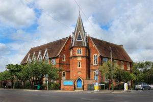 OISE Newbury Hall School Exterior